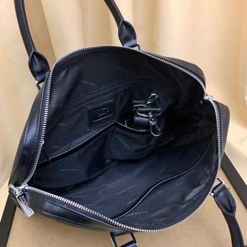Replica Burberry AAA Man Handbags #879524 $100.00 USD for Wholesale