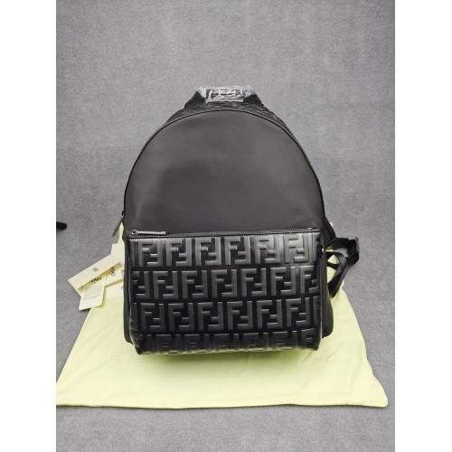 Fendi AAA Man Backpacks #879527 $98.00 USD, Wholesale Replica Fendi AAA Man Backpacks
