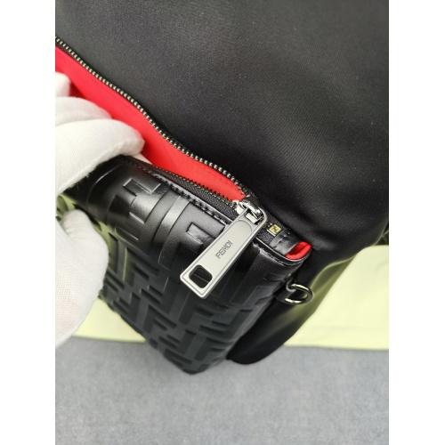 Replica Fendi AAA Man Backpacks #879527 $98.00 USD for Wholesale