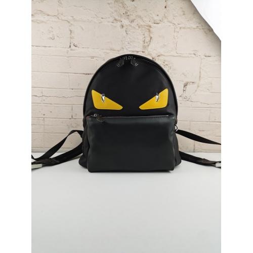 Fendi AAA Man Backpacks #879529 $98.00 USD, Wholesale Replica Fendi AAA Man Backpacks