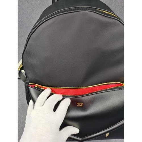 Replica Fendi AAA Man Backpacks #879530 $100.00 USD for Wholesale