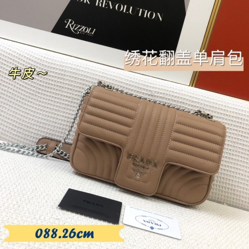 Prada AAA Quality Messeger Bags For Women #879556 $88.00 USD, Wholesale Replica Prada AAA Quality Messeger Bags