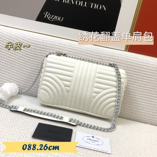 Replica Prada AAA Quality Messeger Bags For Women #879557 $88.00 USD for Wholesale