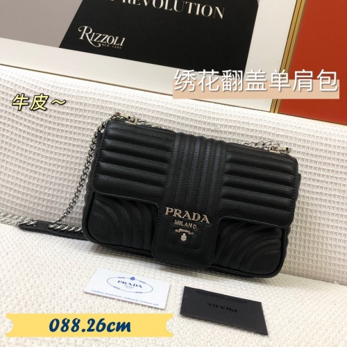 Prada AAA Quality Messeger Bags For Women #879558 $88.00 USD, Wholesale Replica Prada AAA Quality Messeger Bags