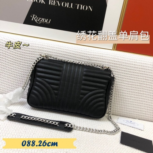 Replica Prada AAA Quality Messeger Bags For Women #879558 $88.00 USD for Wholesale