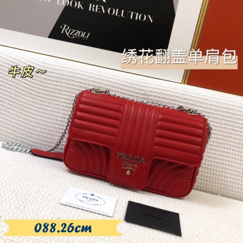 Prada AAA Quality Messeger Bags For Women #879559 $88.00 USD, Wholesale Replica Prada AAA Quality Messeger Bags