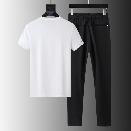 Replica Armani Tracksuits Short Sleeved For Men #879576 $64.00 USD for Wholesale