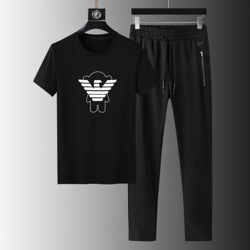 Armani Tracksuits Short Sleeved For Men #879578