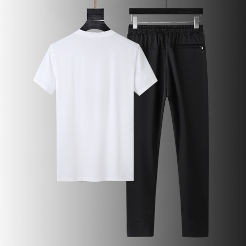 Replica Armani Tracksuits Short Sleeved For Men #879579 $64.00 USD for Wholesale