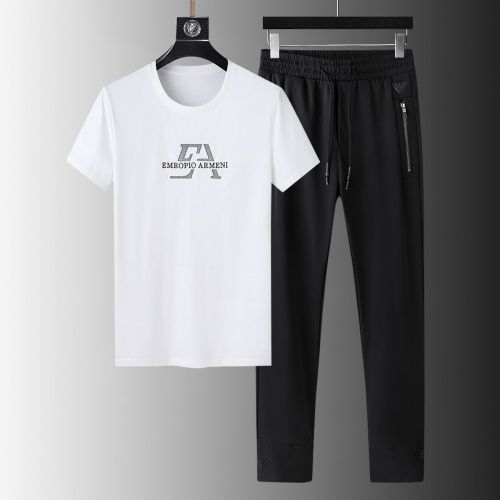 Armani Tracksuits Short Sleeved For Men #879580