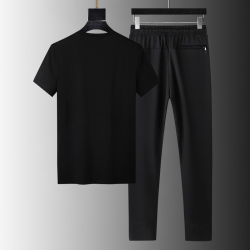 Replica Armani Tracksuits Short Sleeved For Men #879581 $64.00 USD for Wholesale