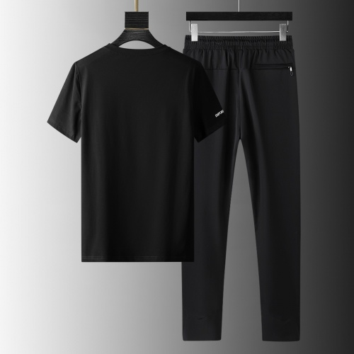Replica Armani Tracksuits Short Sleeved For Men #879586 $64.00 USD for Wholesale