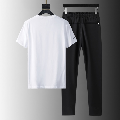 Replica Armani Tracksuits Short Sleeved For Men #879587 $64.00 USD for Wholesale