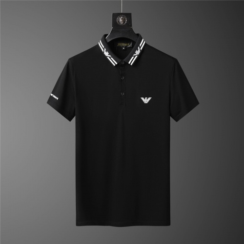 Replica Armani Tracksuits Short Sleeved For Men #879591 $68.00 USD for Wholesale