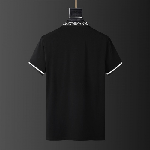 Replica Armani Tracksuits Short Sleeved For Men #879595 $68.00 USD for Wholesale
