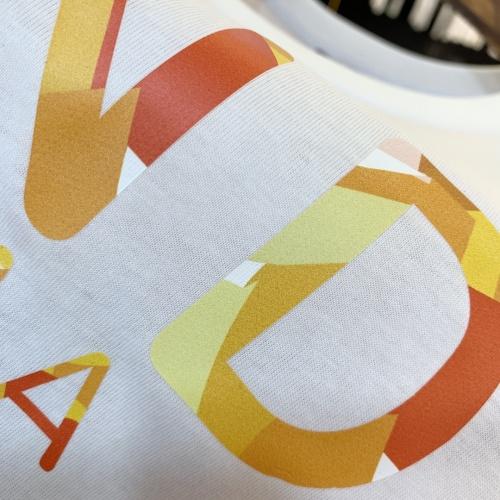 Replica Fendi T-Shirts Short Sleeved For Men #879606 $40.00 USD for Wholesale