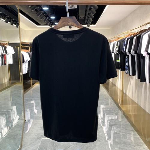 Replica Fendi T-Shirts Short Sleeved For Men #879607 $40.00 USD for Wholesale