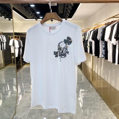 Alexander McQueen T-shirts Short Sleeved For Men #879608 $40.00 USD, Wholesale Replica Alexander McQueen T-shirts