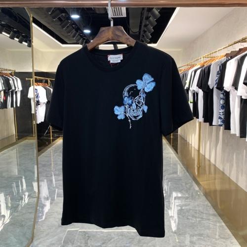 Alexander McQueen T-shirts Short Sleeved For Men #879609 $40.00 USD, Wholesale Replica Alexander McQueen T-shirts