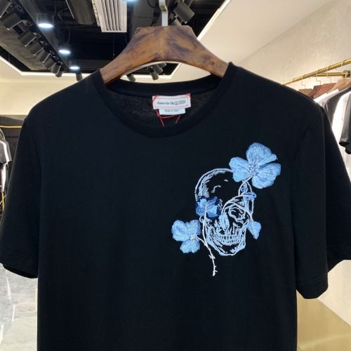 Replica Alexander McQueen T-shirts Short Sleeved For Men #879609 $40.00 USD for Wholesale