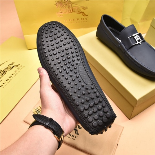Replica Burberry Leather Shoes For Men #879614 $80.00 USD for Wholesale