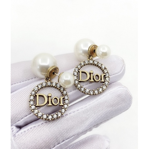 Christian Dior Earrings #879679 $32.00 USD, Wholesale Replica Christian Dior Earrings