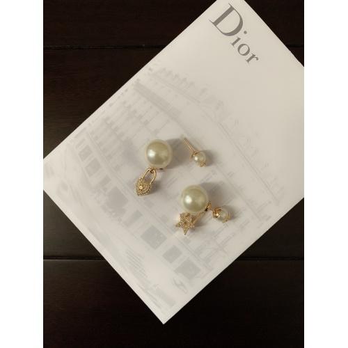 Christian Dior Earrings #879681 $34.00 USD, Wholesale Replica Christian Dior Earrings
