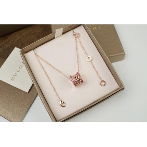 Bvlgari Necklaces #879701 $36.00 USD, Wholesale Replica Bvlgari Necklaces