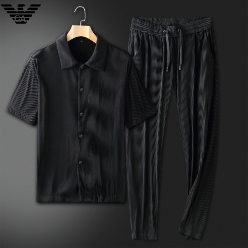 Armani Tracksuits Short Sleeved For Men #879772