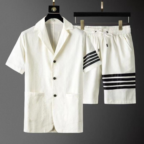 Thom Browne TB Tracksuits Short Sleeved For Men #879779