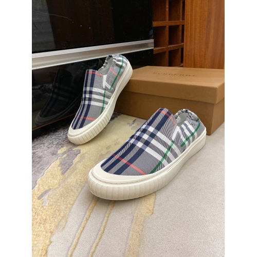 Burberry Casual Shoes For Men #879782 $60.00 USD, Wholesale Replica Burberry Casual Shoes