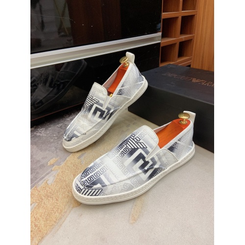 Armani Casual Shoes For Men #879783 $68.00 USD, Wholesale Replica Armani Casual Shoes