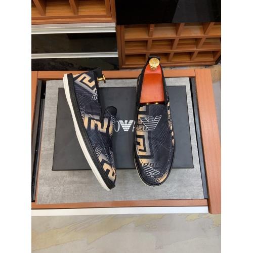 Replica Armani Casual Shoes For Men #879784 $68.00 USD for Wholesale