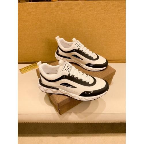 Armani Casual Shoes For Men #879785 $80.00 USD, Wholesale Replica Armani Casual Shoes