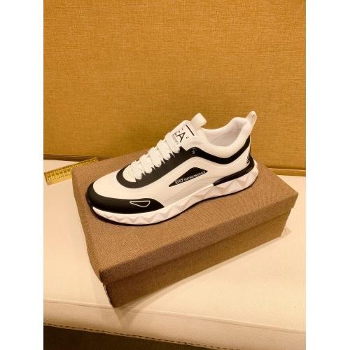 Replica Armani Casual Shoes For Men #879785 $80.00 USD for Wholesale