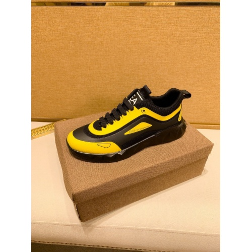 Replica Armani Casual Shoes For Men #879786 $80.00 USD for Wholesale