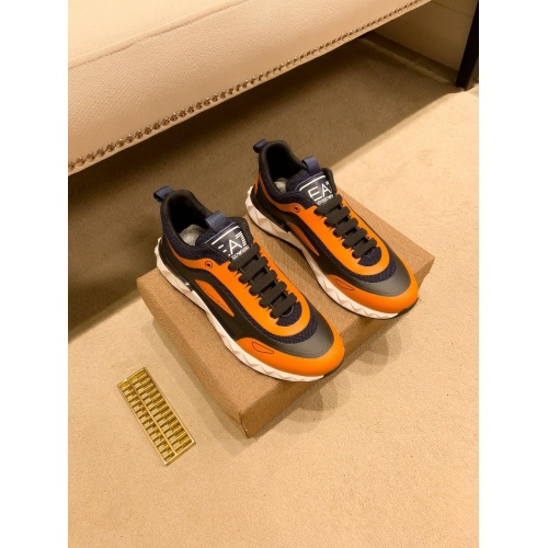 Replica Armani Casual Shoes For Men #879787 $80.00 USD for Wholesale