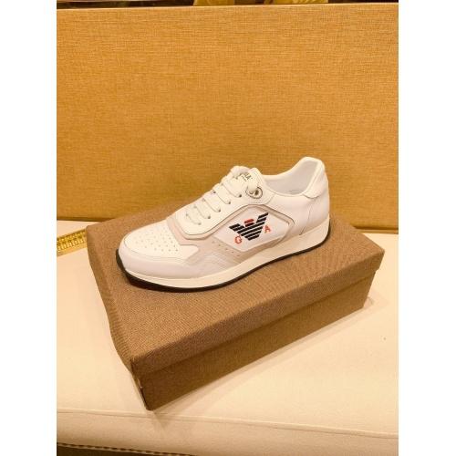 Replica Armani Casual Shoes For Men #879788 $80.00 USD for Wholesale