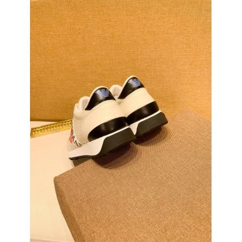 Replica Armani Casual Shoes For Men #879791 $80.00 USD for Wholesale