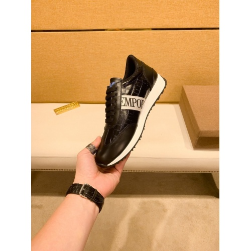 Replica Armani Casual Shoes For Men #879792 $80.00 USD for Wholesale