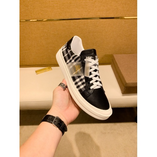 Replica Burberry Casual Shoes For Men #879807 $76.00 USD for Wholesale