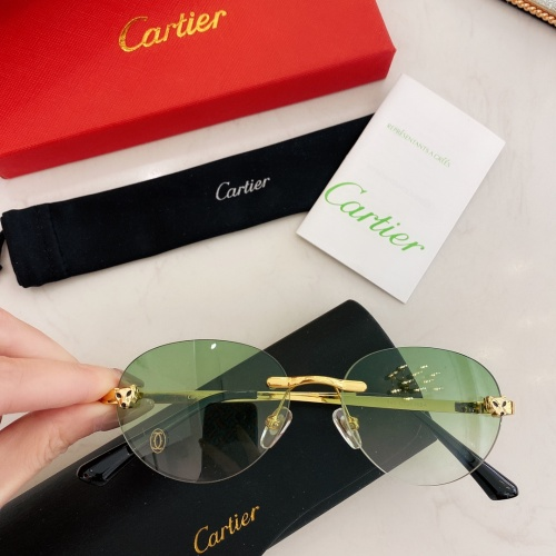 Cartier AAA Quality Sunglasses #879810