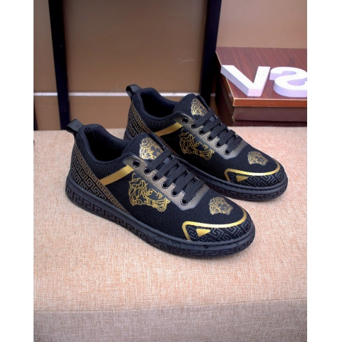 Versace Casual Shoes For Men #879831 $76.00 USD, Wholesale Replica Versace Casual Shoes