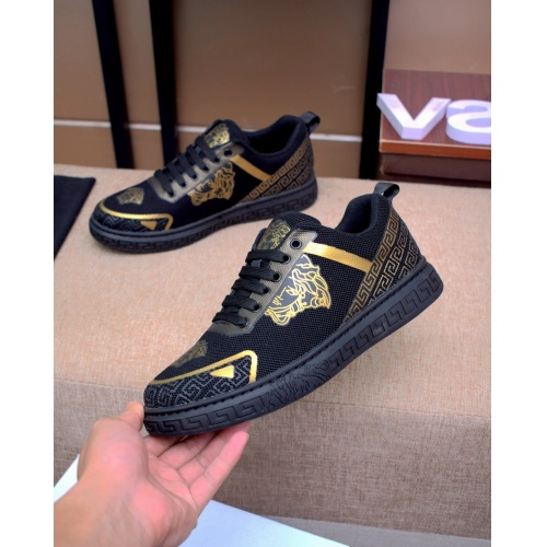 Replica Versace Casual Shoes For Men #879831 $76.00 USD for Wholesale