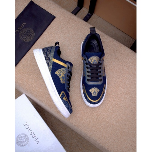 Replica Versace Casual Shoes For Men #879832 $76.00 USD for Wholesale