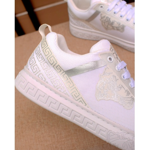 Replica Versace Casual Shoes For Men #879833 $76.00 USD for Wholesale