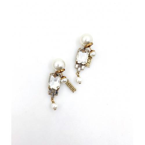 Christian Dior Earrings #879886 $32.00 USD, Wholesale Replica Christian Dior Earrings