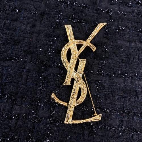 Yves Saint Laurent Brooches #879938 $34.00 USD, Wholesale Replica Yves Saint Laurent Brooches