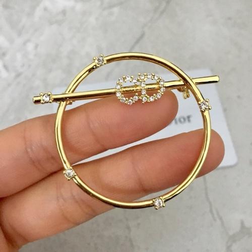Christian Dior Brooches #879941 $38.00 USD, Wholesale Replica Christian Dior Brooches