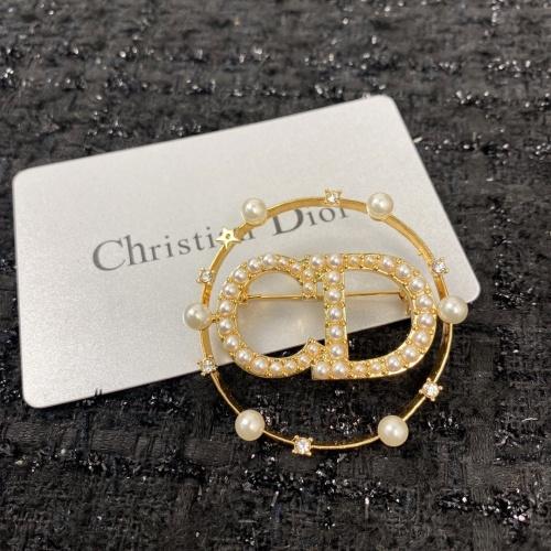 Christian Dior Brooches #879942 $38.00 USD, Wholesale Replica Christian Dior Brooches